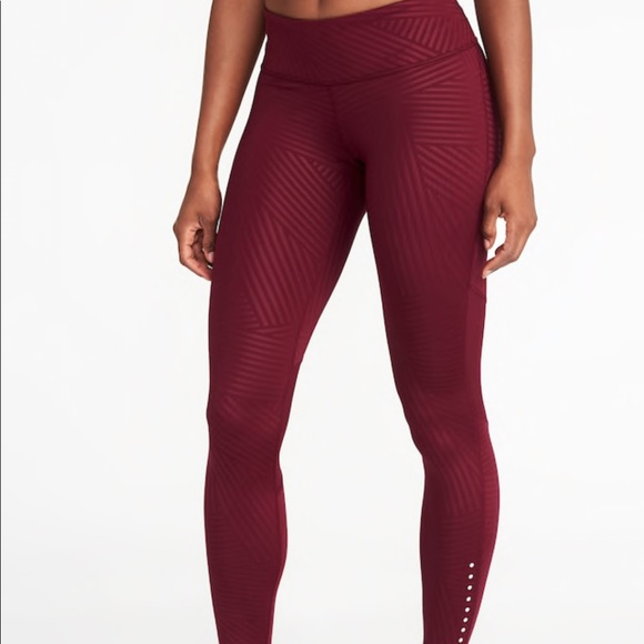 0fad3bbc66eb9 Old Navy Pants | Midrise Elevate Lightweight Compression Leggings ...